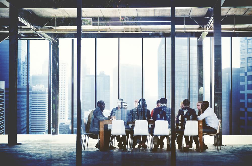 Meeting in Skyscraper shutterstock_376000987