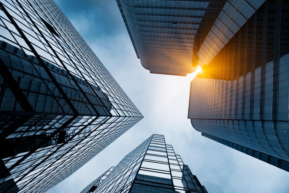Skyscraper looking up 2 shutterstock_540319909